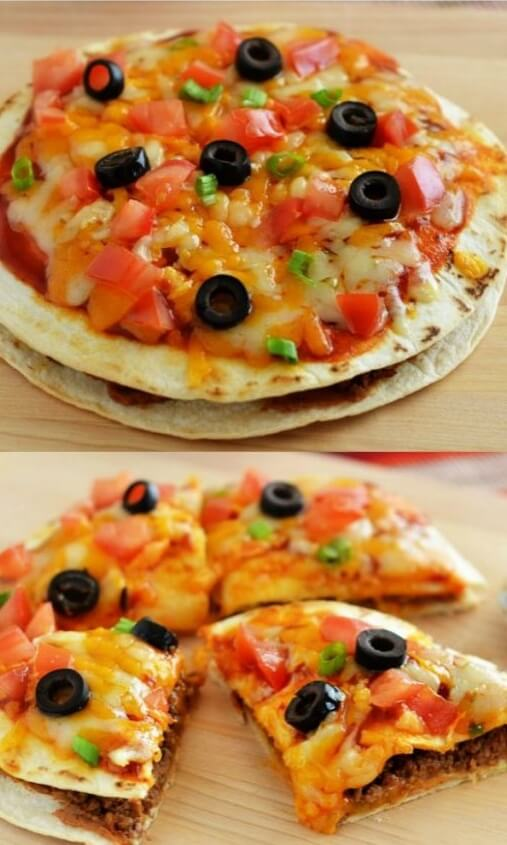20. Mexican Pizzas