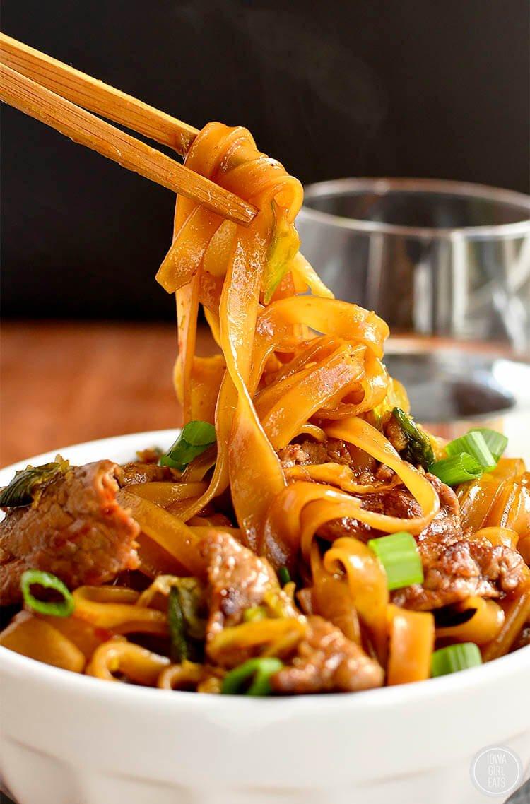 20. Mongolian Beef Noodle Bowl