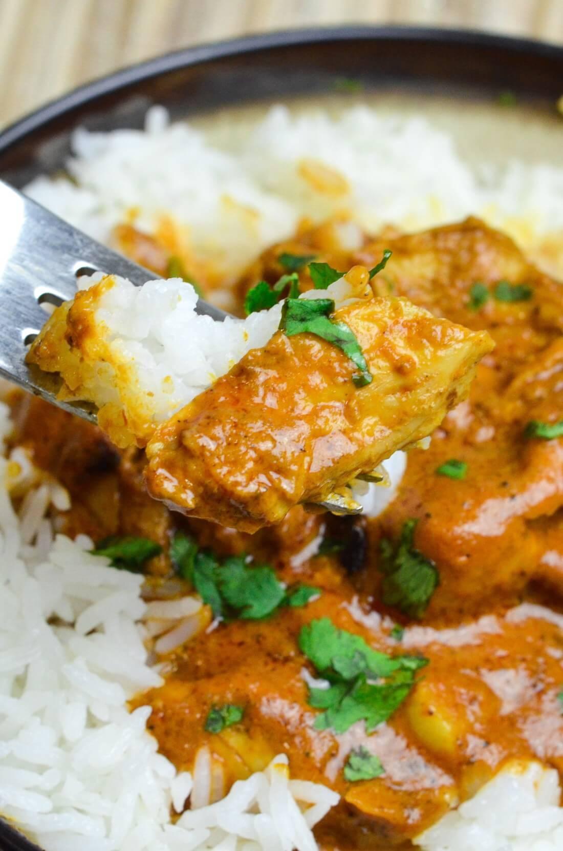 20.Pressure Cooker Indian Butter Chicken