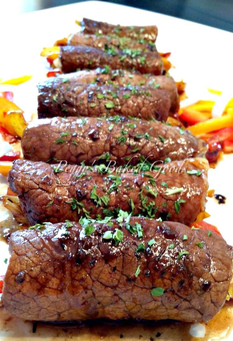 21.Beef Roll Ups