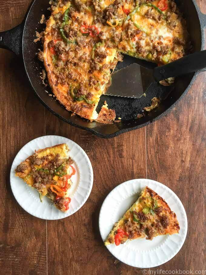 22. Low Carb Breakfast Pizza