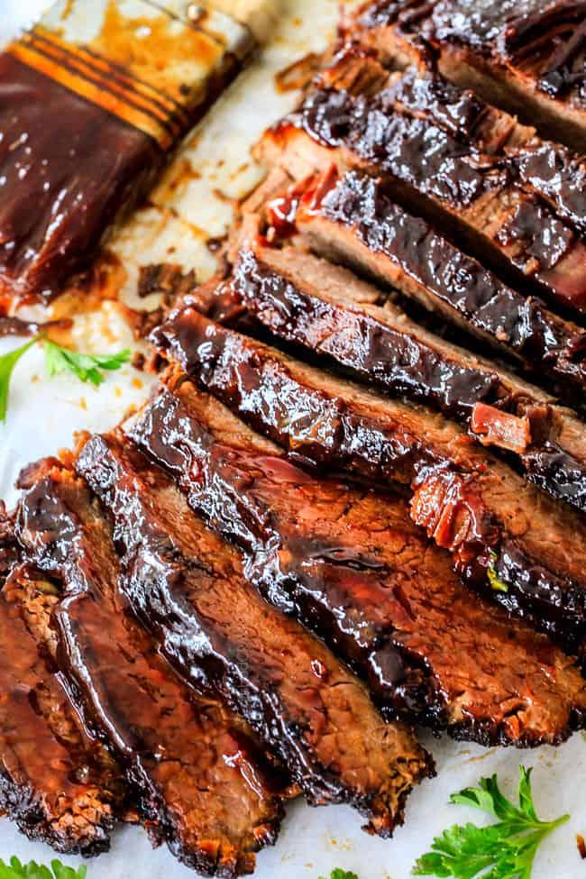22.Slow Cooker Beef Brisket