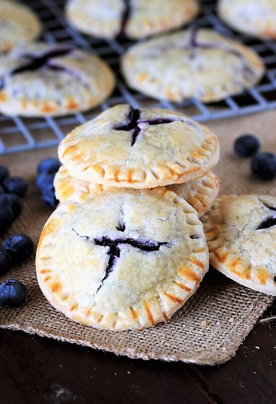 23. Blueberry Pie Cookies