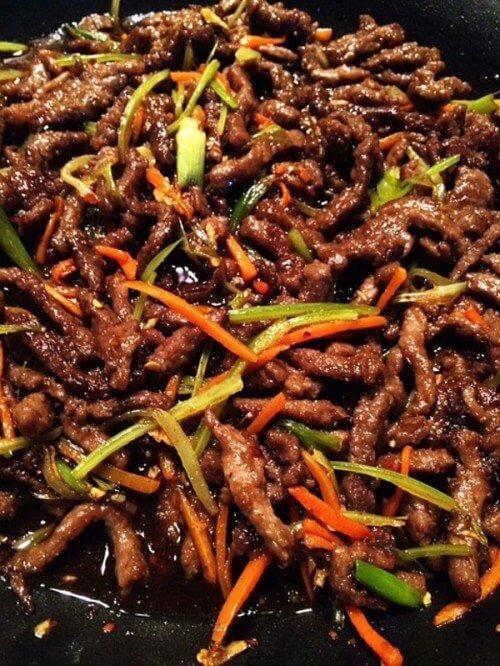 23.Easy Szechuan Beef