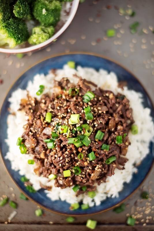 23. Healthy Asian Beef Bowl