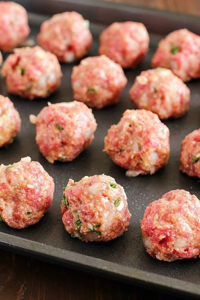 25.Baked Meatballs