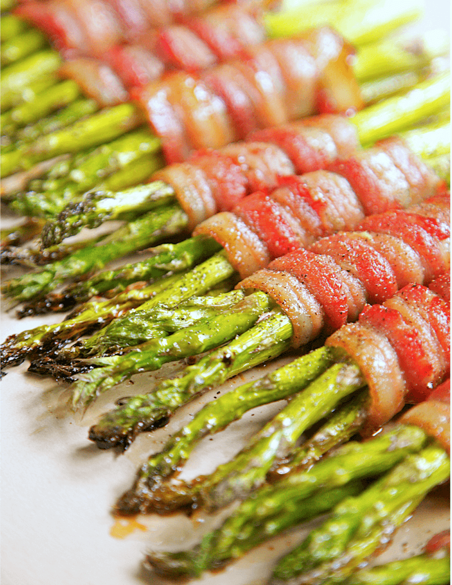 27. Bacon Wrapped Asparagus rv