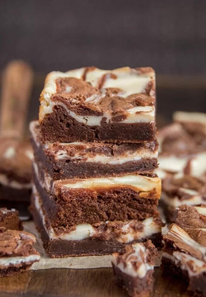 3. Cream Cheese Brownies