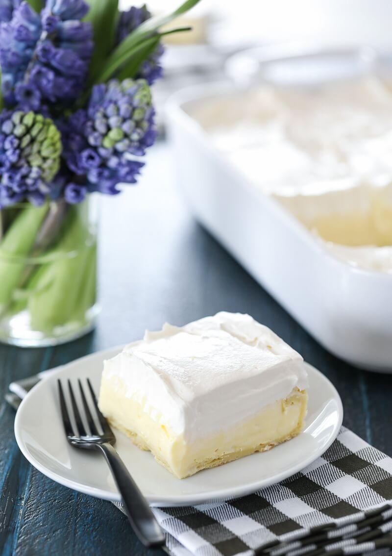 3.Cream Puff Cake