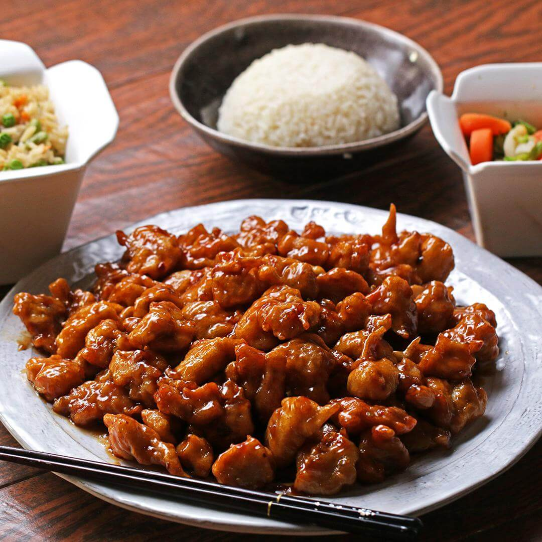 3. Easy Orange Chicken