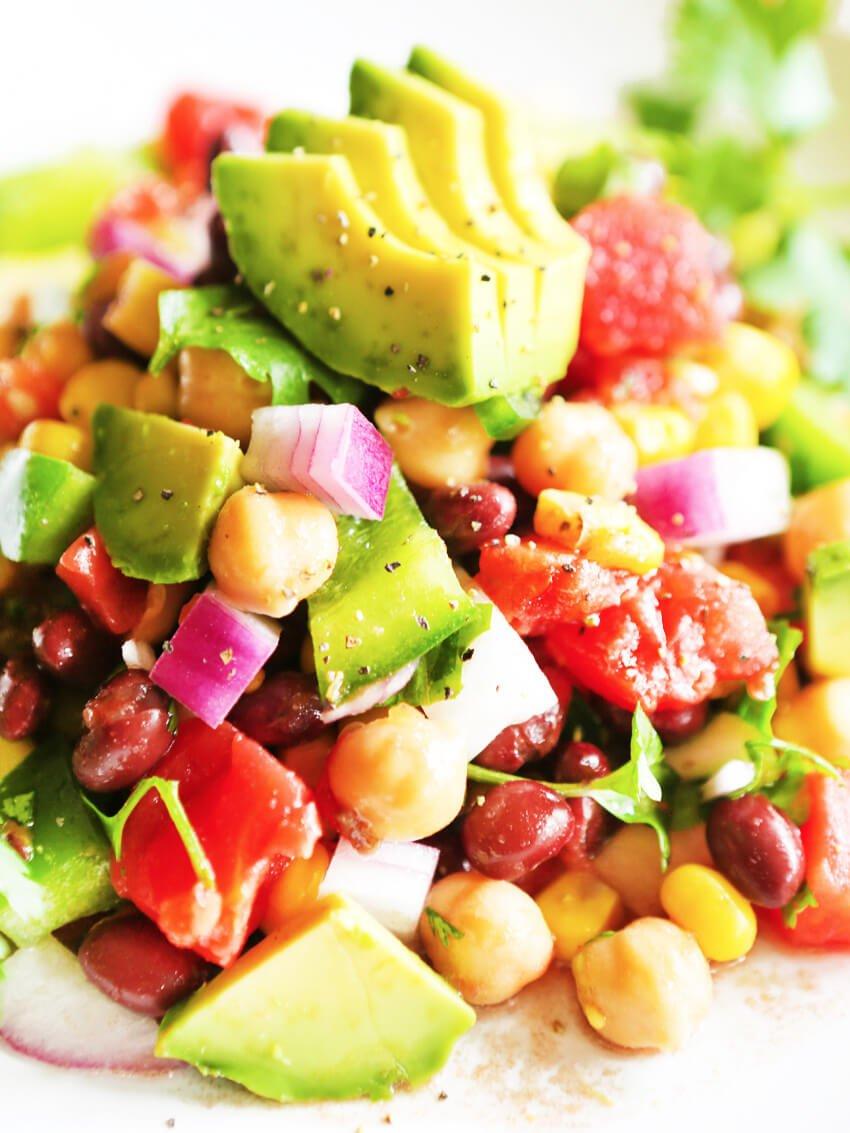 3. Loaded Veggie Salad