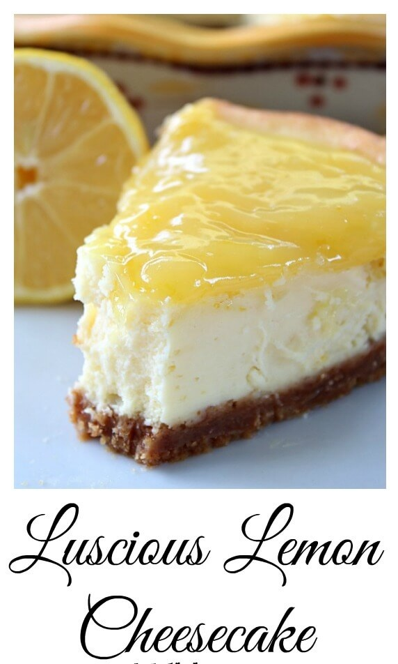 3. No Bake Lemon Cheesecake rv