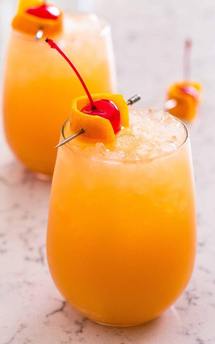 4. Bahama Mama Cocktail
