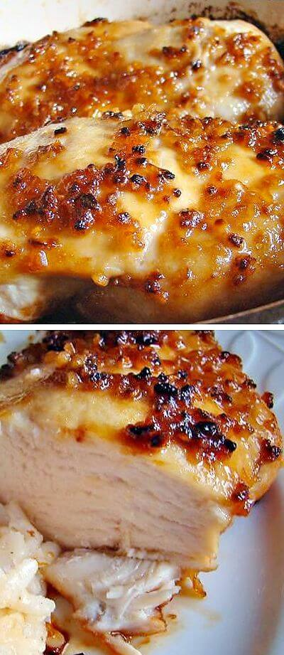 4. Easy Baked Garlic Brown Sugar Chicken