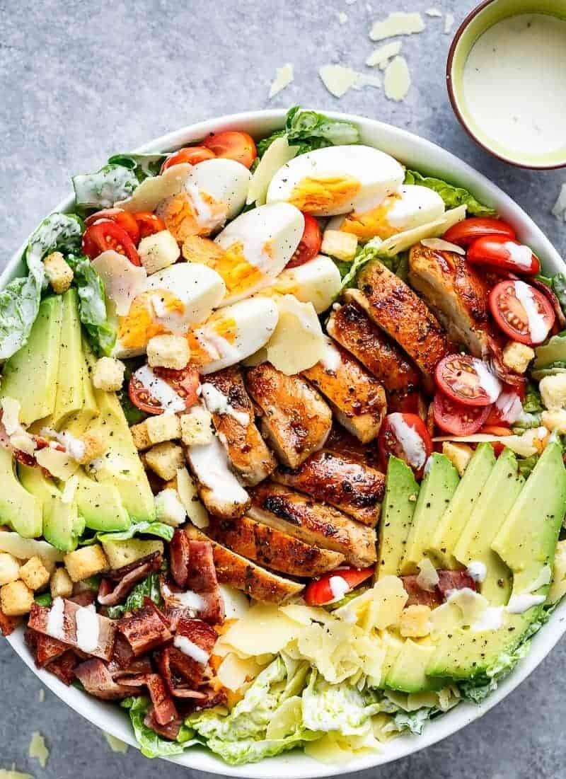 4. Grilled Chicken Cobb Salad Bowl