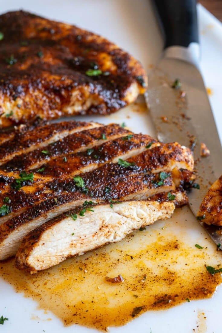 4. Juicy Oven-Baked Chicken Breast