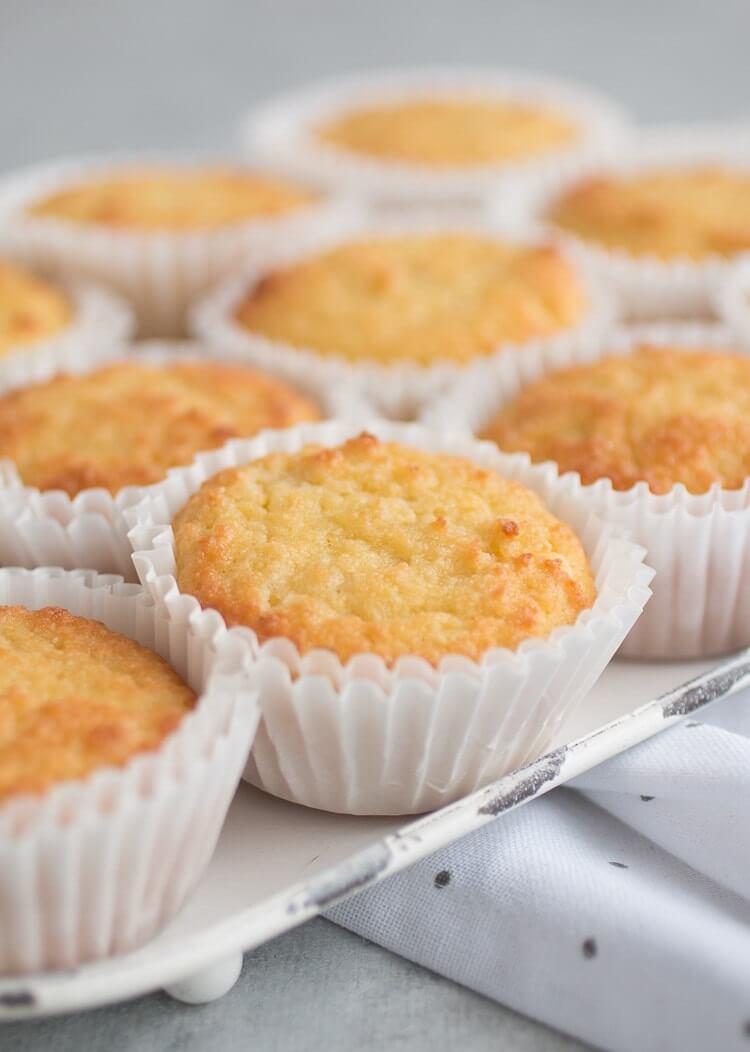 4. KetoSour Cream Vanilla Cupcakes
