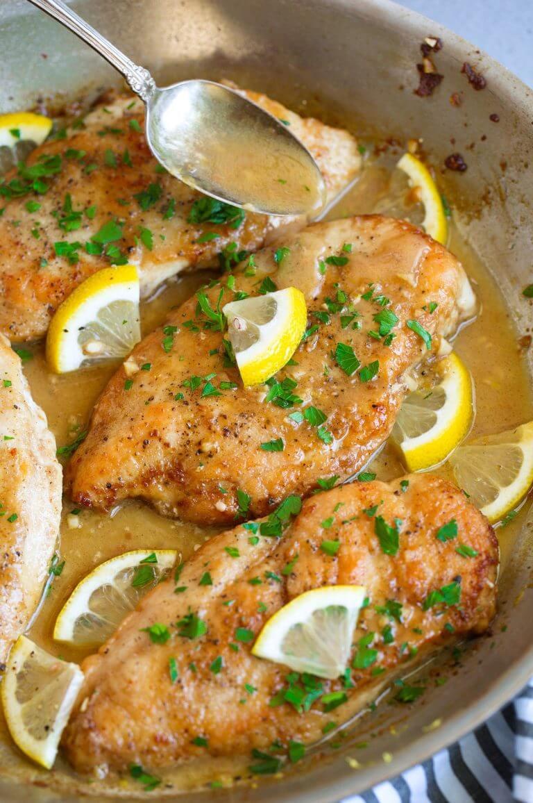4. Skillet Lemon Butter Chicken