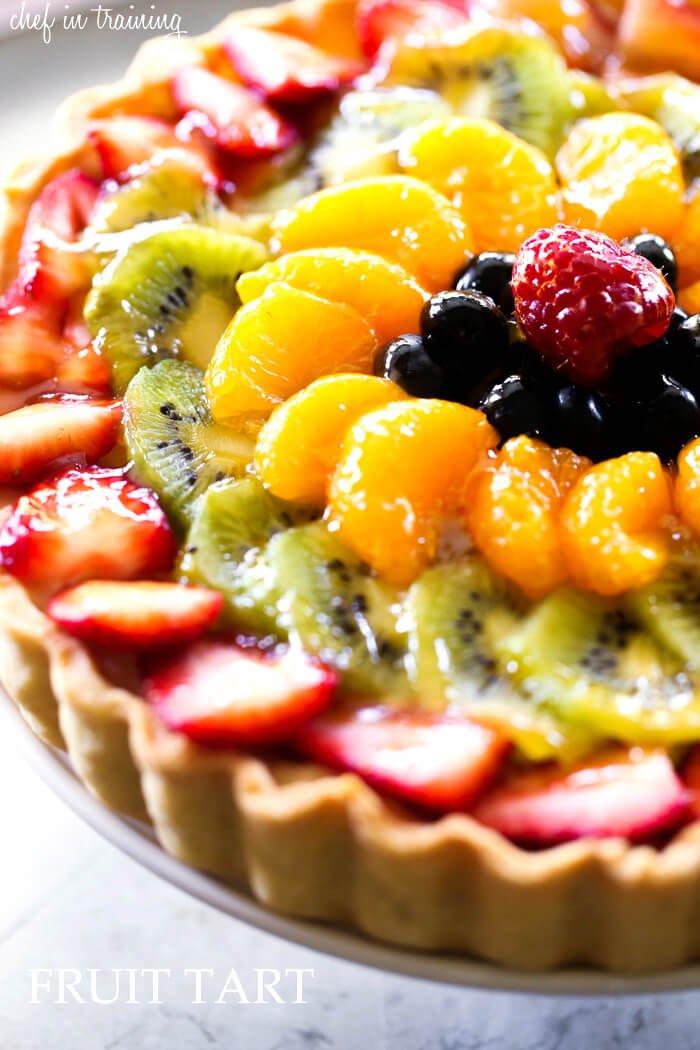 4. Spring Fruit Tart