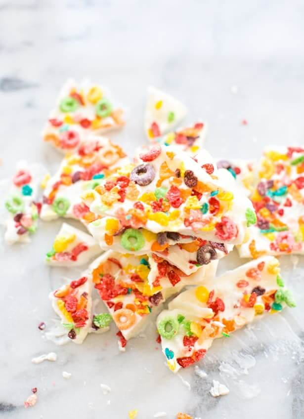 5. Cereal Yogurt Bark