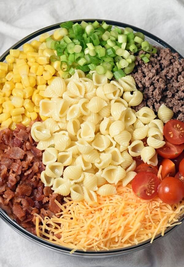 5.Cowboy Pasta Salad