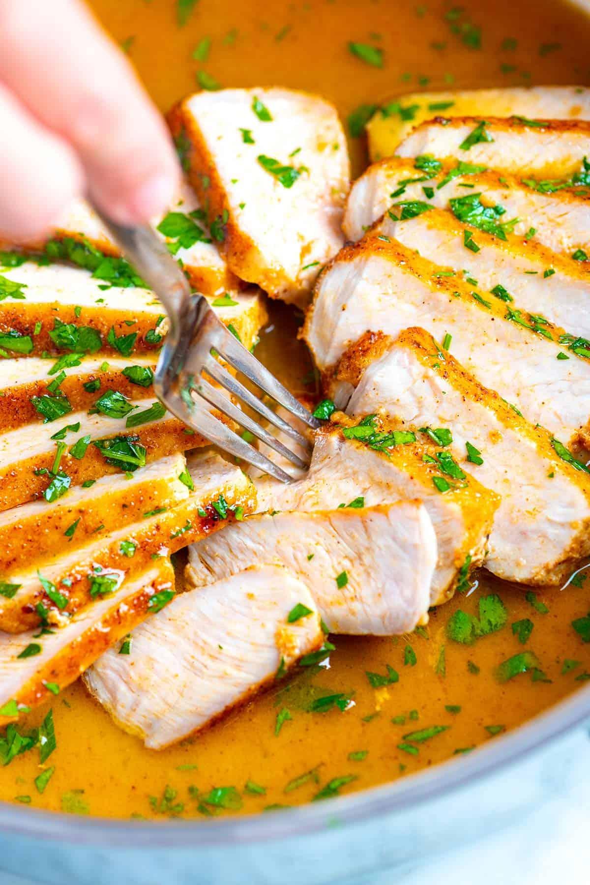 5. Juicy Skillet Pork Chop