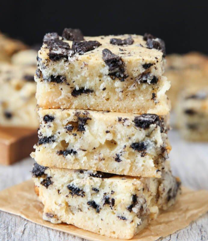 6. Cookies and Cream Brownies