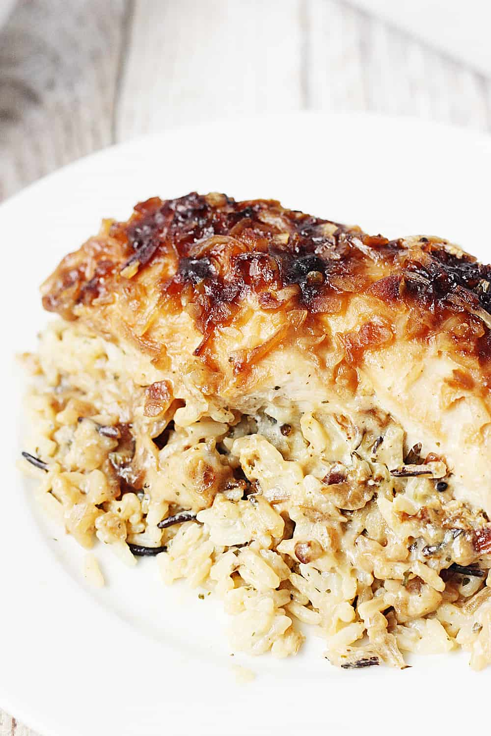 6. One-Pan No Peek Chicken and Rice