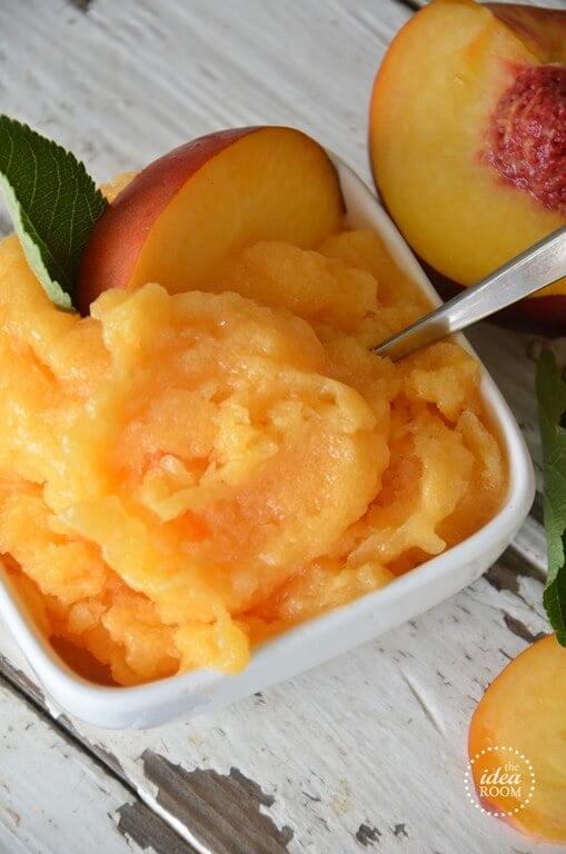 6. Peach Slush