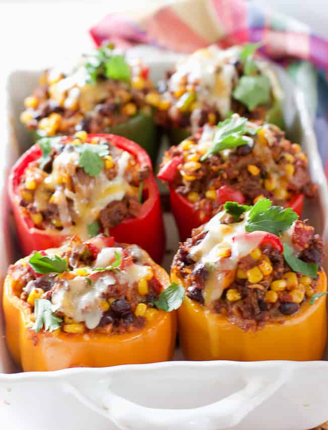6. Southwestern Stuffed Peppers
