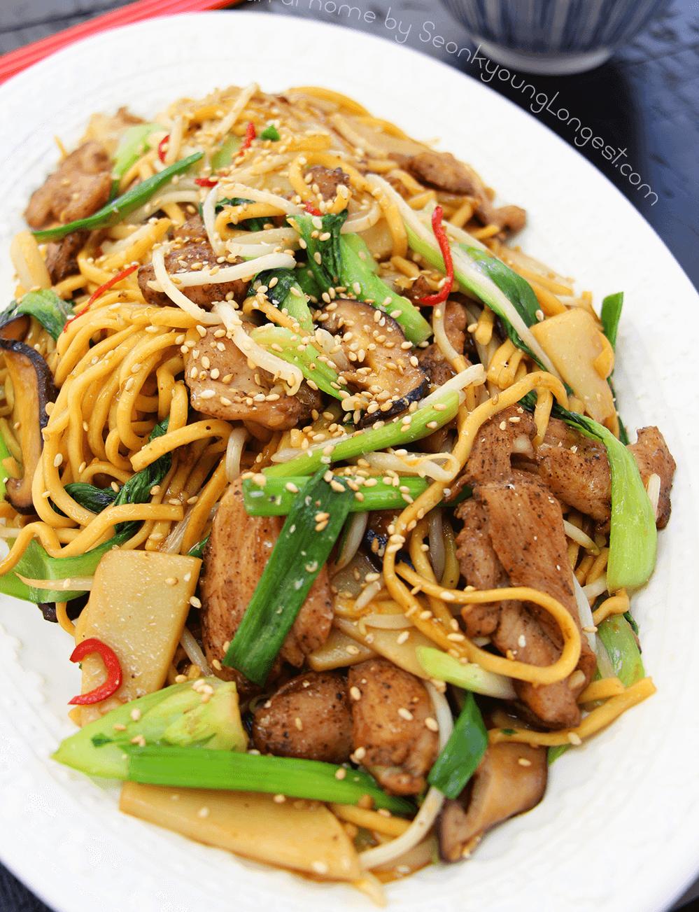 7. Chicken Chow Mein
