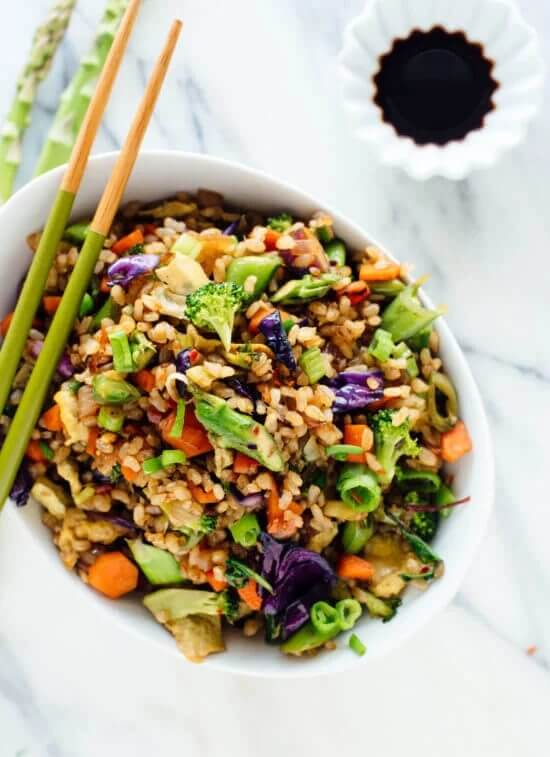 7. Extra Vegetable Fried Rice