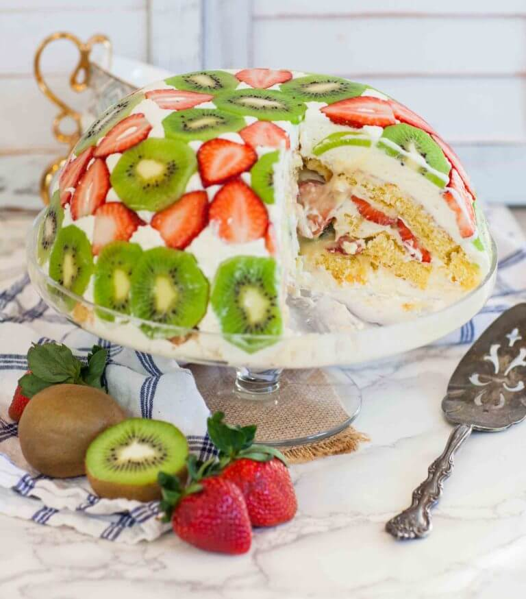 7. Fruit Dome Cake