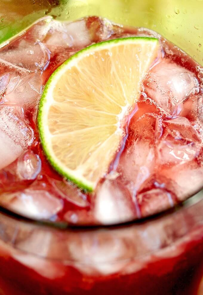 7. Homemade Cherry Limeade