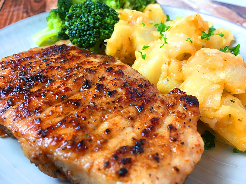 7. Instant Pot Boneless Pork Chops