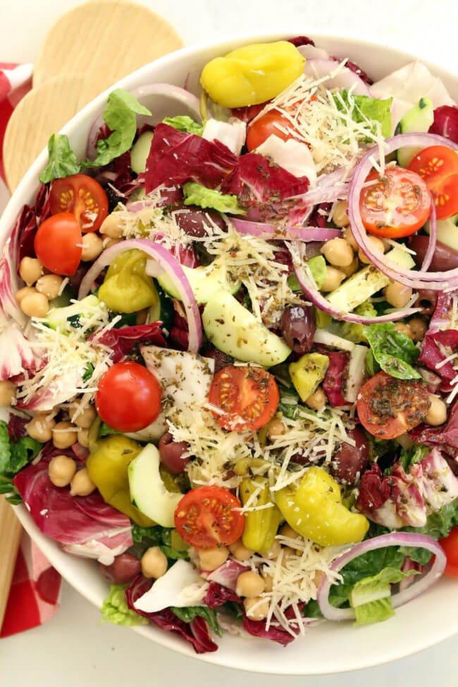 8. Italian Chopped Salad