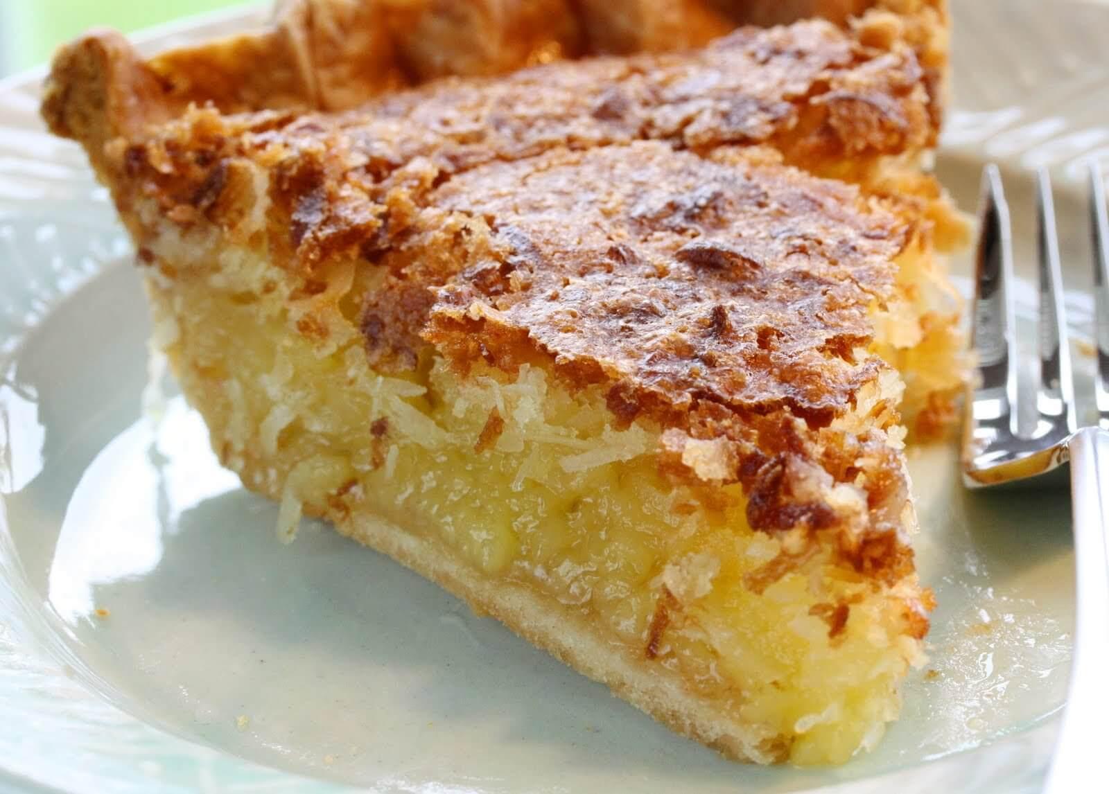 9. French Coconut Pie