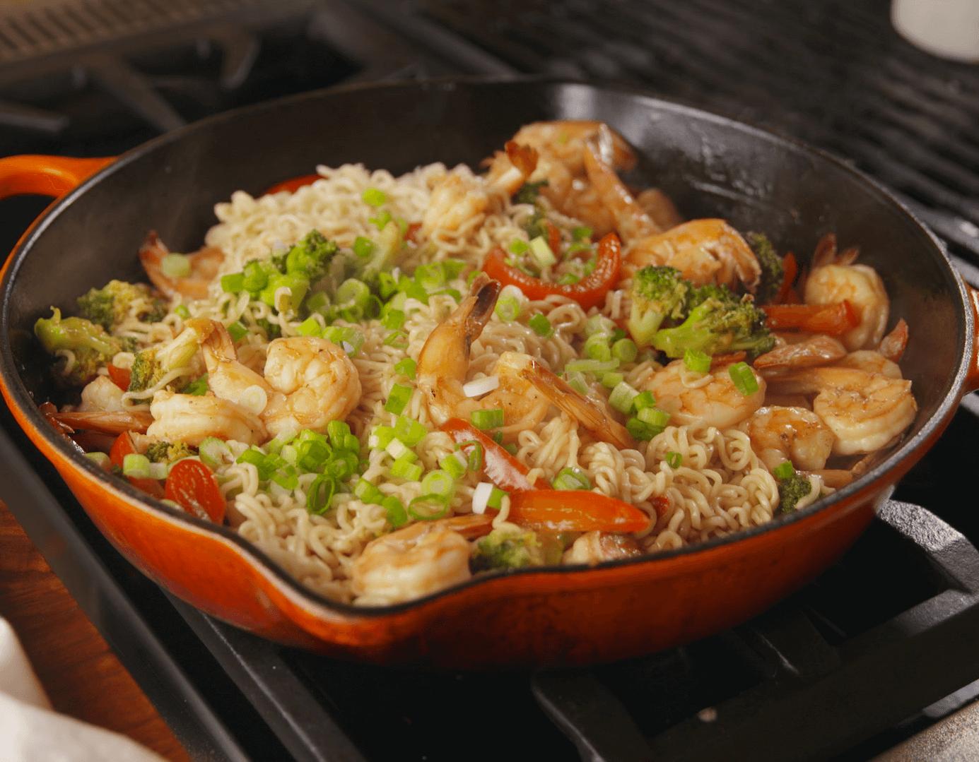 9. Garlic Shrimp Lamen