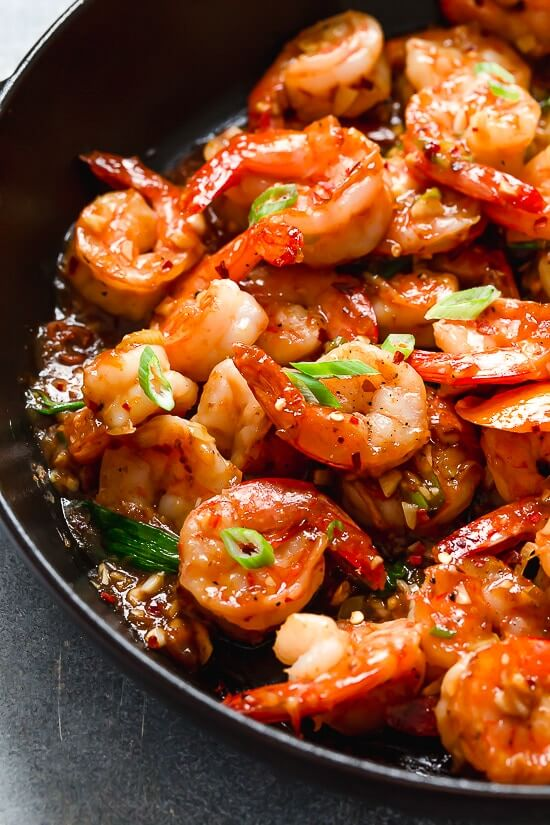 9. Honey Garlic Shrimp