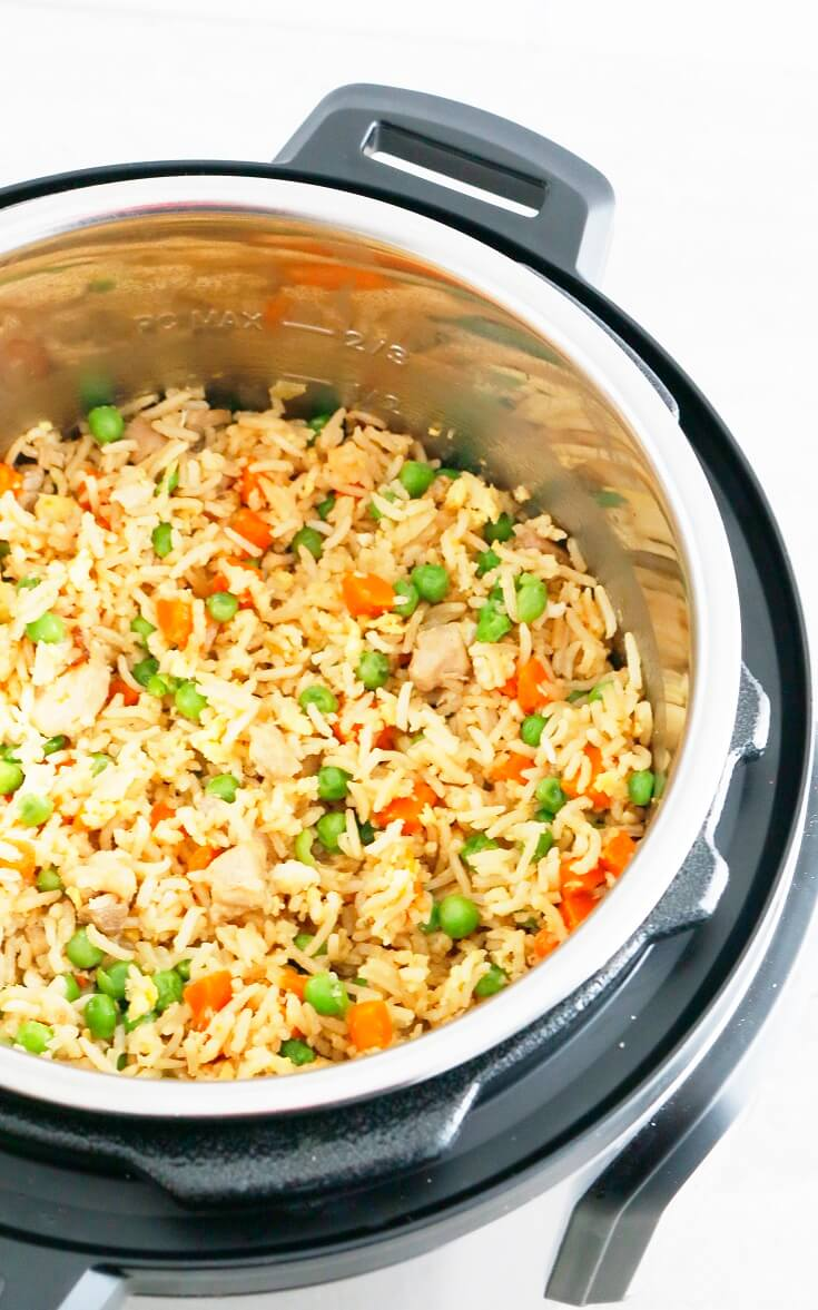 9. Instant Pot Chicken Fried Rice