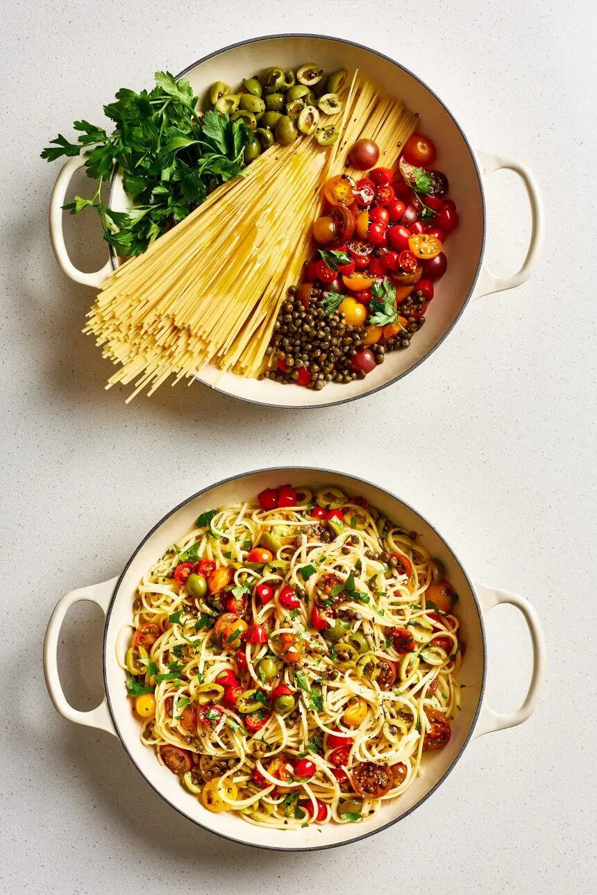 9. One-Pot Puttanesca Pasta