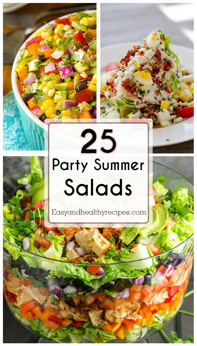 Party Summer Salads