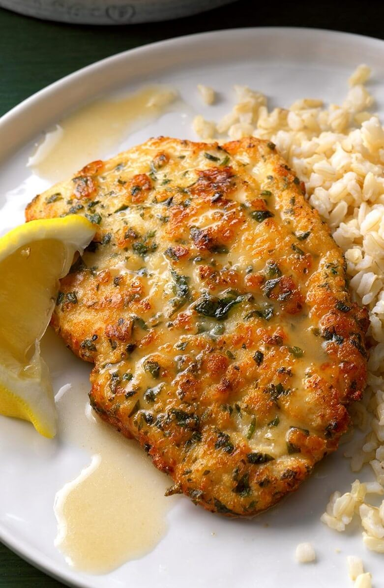 #1 Chicken Piccata with Lemon Sauce