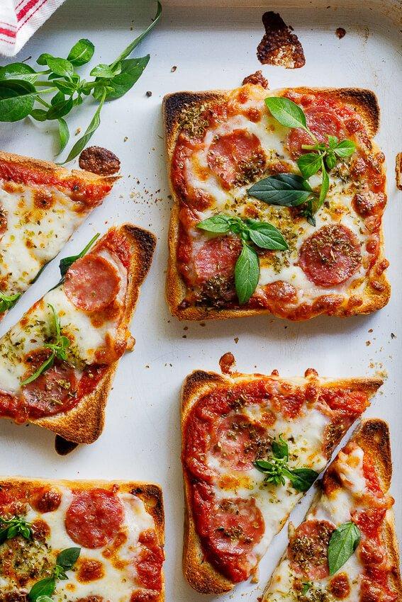 1 Easy Pizza Toast