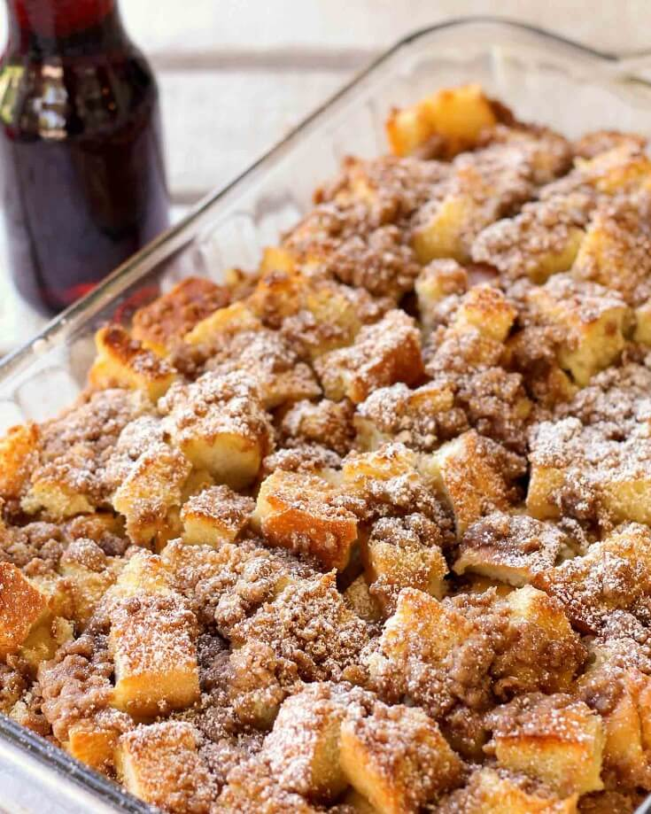 #1 French Toast Casserole