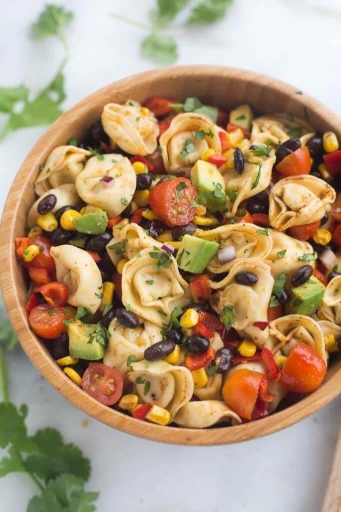 #1 Southwest Tortellini Pasta Salad