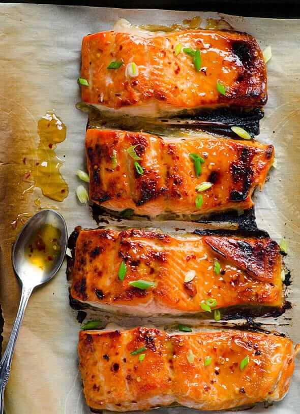 #1 Thai Baked Salmon in Foil