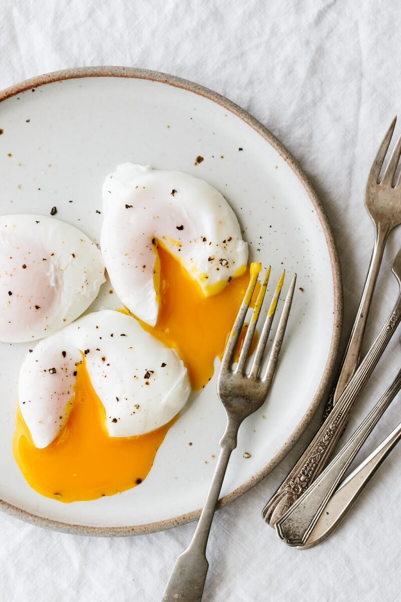 1. Poached Eggs