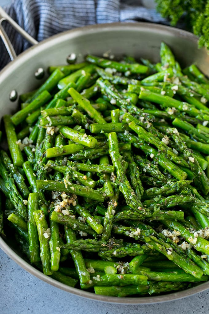 1. Sauteed Asparagus-min