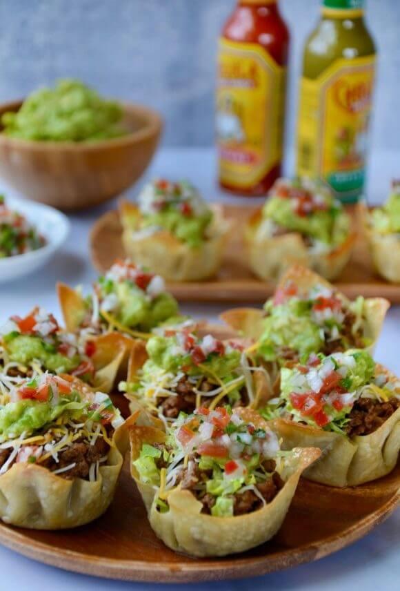 1. Taco Salad Cups